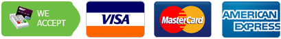 We Accept – master visa amex